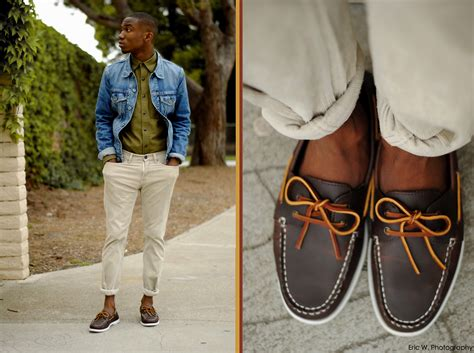boat shoes pants brandon chase boat shoes corduroy pants jean jacket