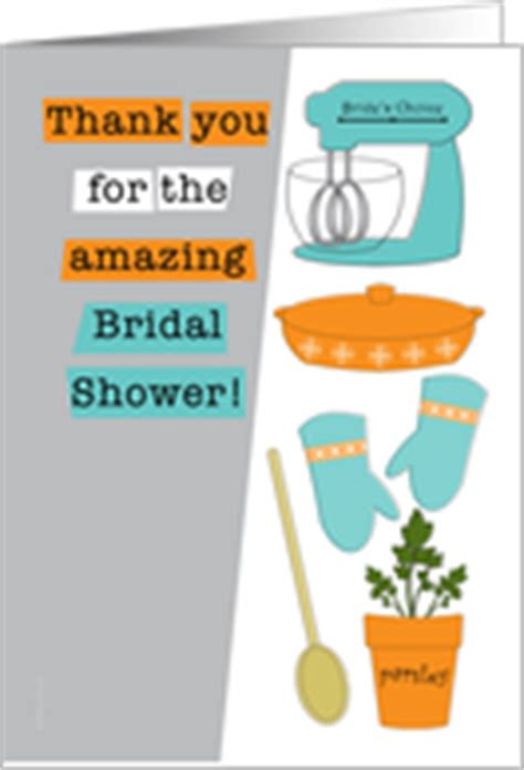 thank you host bridal shower thank you cards for bridal shower host hostess from