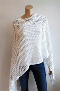 Ginette Ny Jewelry Gloria Jewel Cotton Crochet Ruana
