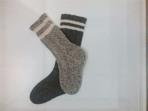 Pattern For Newfoundland Socks | a note in the toe of a sock archival moments