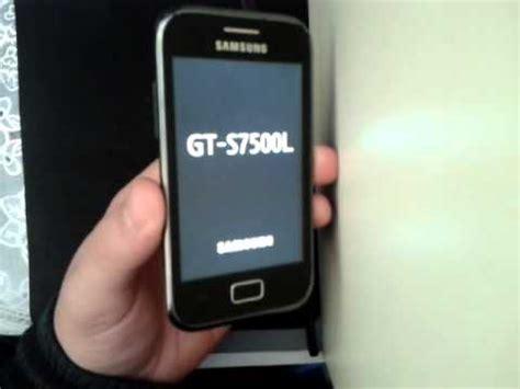 reset samsung s7500 dr celular samsung s7500 hard reset desbloquear