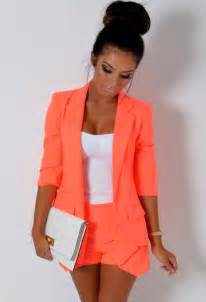 celebrity inspired fashion for women zaffy neon orange