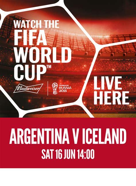 argentina vs iceland argentina vs iceland saturday 16th june slug and