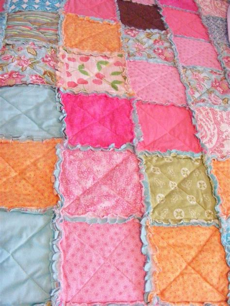 How To Make A Rag Quilt With Cotton Fabric by The Complete Guide To Imperfect Homemaking Easy Thrifty