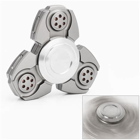 Fidget Spinner Keramik Ceramic Bearing Tri Spinner Toys 1 army green aluminum tri spinner fidget spinner focus edc