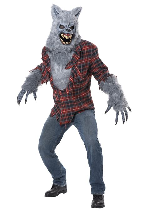 wolf costume gray lycan costume