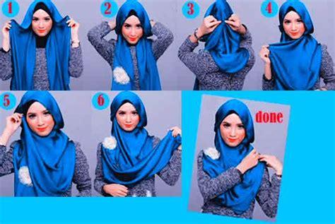 tutorial hijab segi empat simple untuk wajah lonjong tutorial hijab modern untuk wajah lonjong