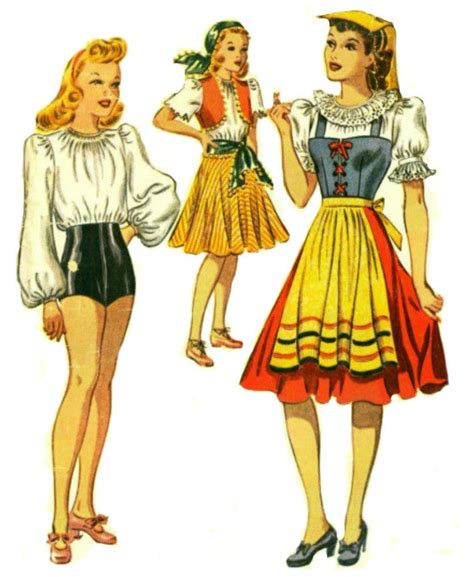 tap dance pattern 1940 s costume patterns mccall 792 1940 girl s tap