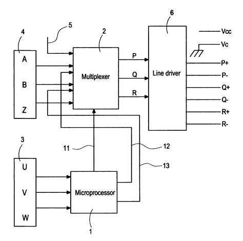 optical encoder circuit diagram patent us7227329 wire saving optical encoder