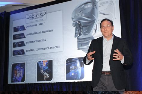 yamaha marine officially unveils   horsepower  outboard boating industry