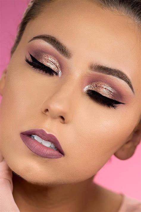 Lipstik Make Gold Makeup Looks Mugeek Vidalondon