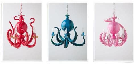 octopus chandelier for sale anthropologie octopus chandelier for your home the sea