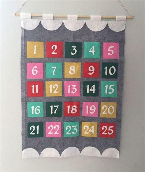 Felt Advent Calendar 17 Best Ideas About Felt Advent Calendar On
