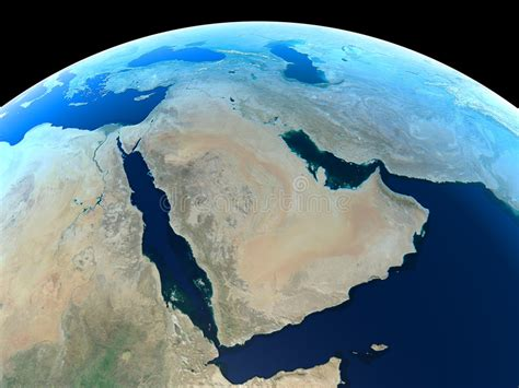 earth middle east royalty  stock photo image