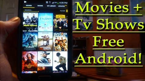 free tv on android best app for tv shows android