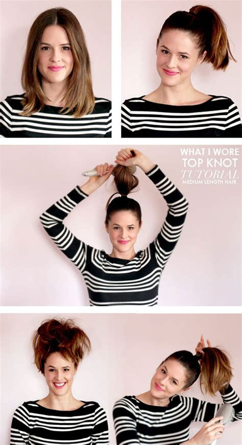 Hairstyles For Medium Hair Can Do by 15 And Easy Hairstyle Tutorials For Medium Length