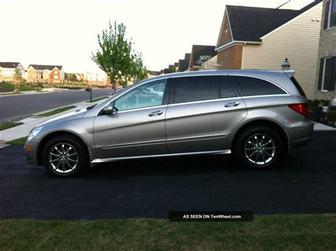 2007 mercedes r500 4matic 52k pano roof 3rd row