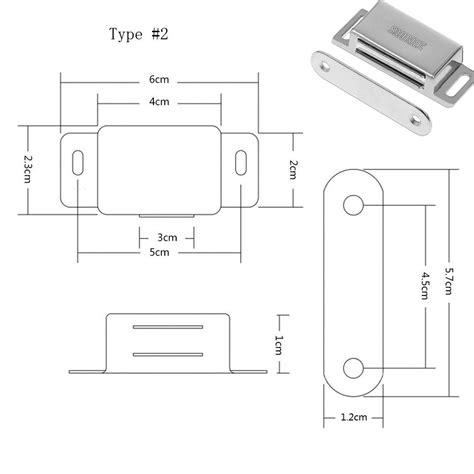 magnetic furniture catch cupboard cabinet wardrobe door