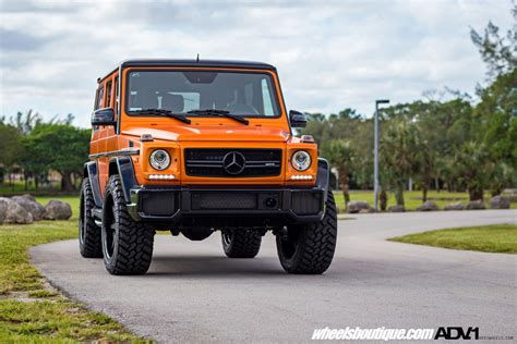 orange mercedes fire orange mercedes benz g63 amg adv08 street function