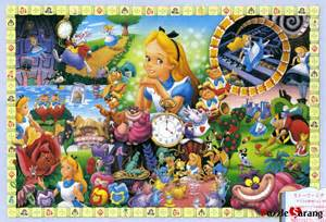 In wonderland quot disney jigsaw puzzles 1000 pieces tenyo 1000 217
