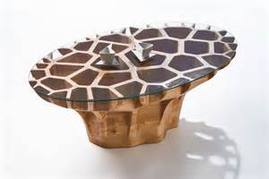 Stacked Bookcase Coffee Table Inspired By Complex Pattern Of Natural Form