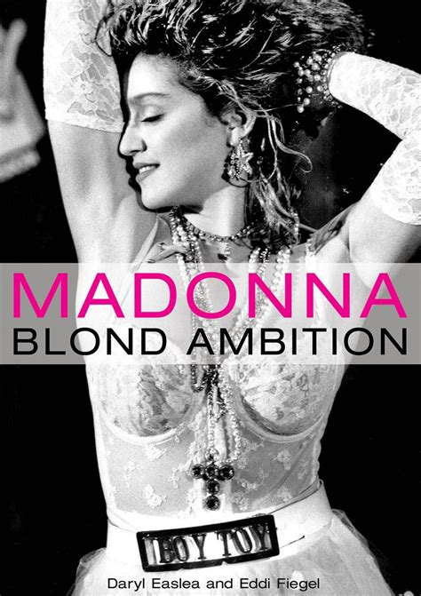 madonna book picture madonna blond ambition biography book and more