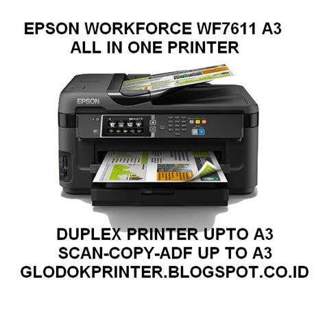 Printer Epson A3 Multifungsi jual epson workforce wf7611 printer a3 all in one harga