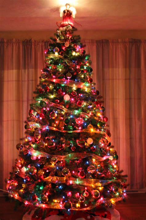 traditional christmas tree christmas pinterest