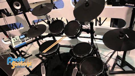 Alesis Dm10 X Kit Mesh Electronic Drum Kit With Mesh Heads namm 2015 alesis dm10 studio dm10x mesh drum kit look audiosavings
