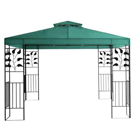 dach fuer gartenpavillon ersatzdach dach   metall