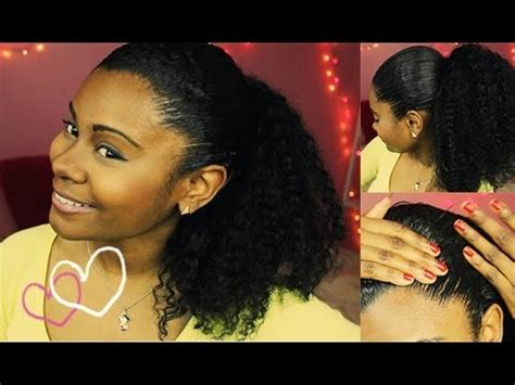 slick back weave hair stylea slicked back ponytail with extensions legatogirlglam