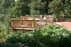 terrasse auf stelzen am hang terrasse auf hang terrasse auf hangbaum haus bau gmbh holz