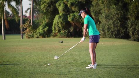 shorten golf swing danielle kang shares a drill to shorten your swing golf com