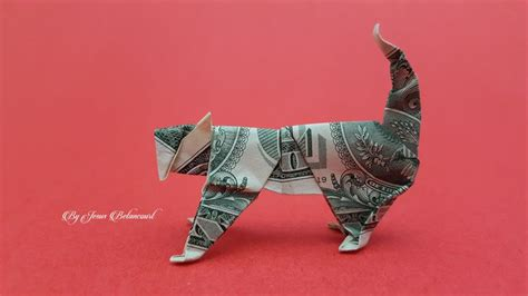 Dollar Origami Cat - 1000 images about dollar origami on dollar