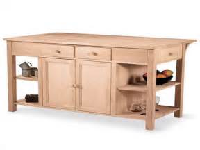 kitchen how make unfinished islands island cart oak cabi with granite countertops also diy farmhouse table