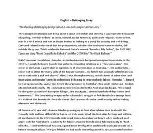 Belonging Essays by Belonging Essay Questions Writefiction581 Web Fc2