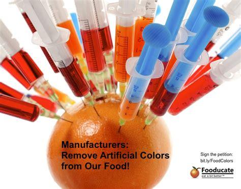 artificial colors no more artificial food colors fooducate