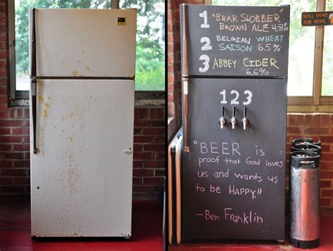 chalkboard paint kegerator build the cave with these 5 awesome diys