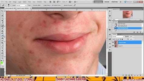 tutorial photoshop remove clothes photoshop cs5 retouching how to remove acne in photoshop