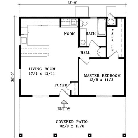 25 best ideas about one bedroom house plans on