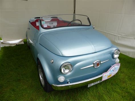 fiat roadster fiat 500 roadster bei den luxembourg classic days 2016 in