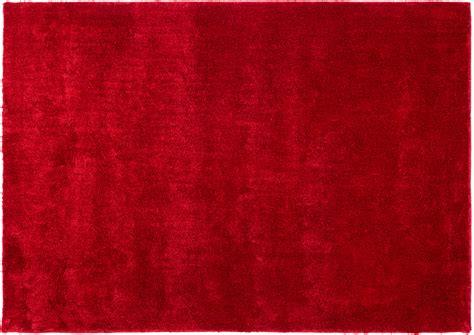 teppich rot barbara becker hochflorteppich rot teppich
