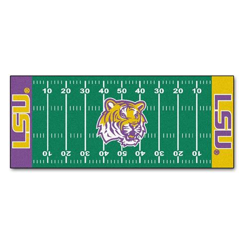 fanmats louisiana state 2 ft 6 in x 6 ft