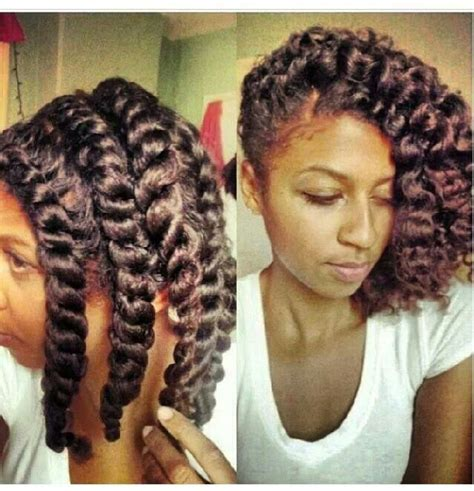 chunky flat twist hairstyles chunky twists style those tresses