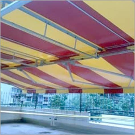 retractable awnings india terrace awnings in mumbai suppliers dealers traders