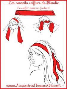 comment porter et mettre un foulard cheveux