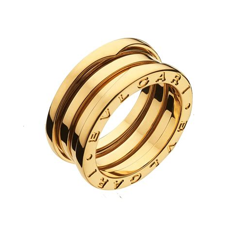3 In 1 Rings bulgari jewelry b zero1 18k yellow gold 3 band ring an191023