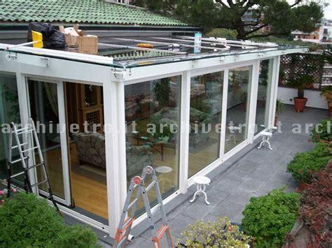 veranda legno e vetro copertura in vetro per veranda struttura in legno
