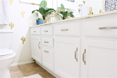 how to paint bathroom vanity how to paint a bathroom vanity clutter