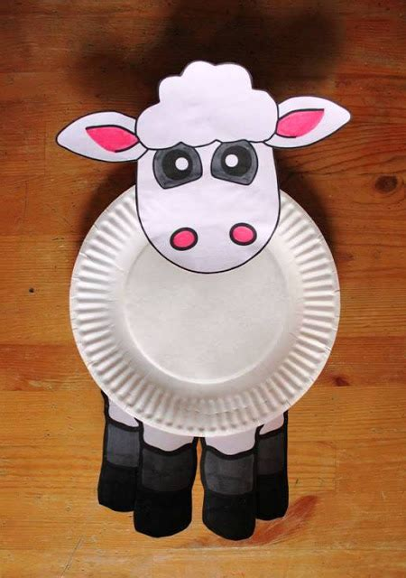 Paper Plate Animal Crafts - paper plates animal craft ideas easy arts and crafts ideas